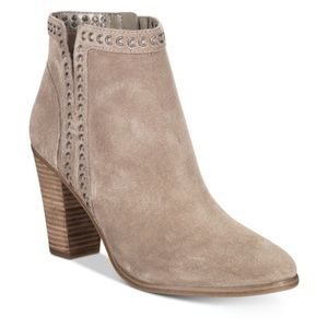 Vince Camuto Finchie Suede Ankle Heel Boot